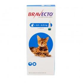 Bravecto Medium Cat Tick & Flea Pipette 2,8-6,25Kg