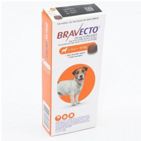 Bravecto Small Dog Tick & Flea Tablet -4,5-10kg