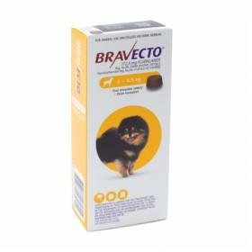 Bravecto Mini Dog Tick & Flea Tablet -2-4,5kg