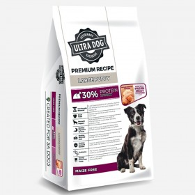 Ultra Dog Premium Large Puppy Dry Dog Food Chicken Flavour