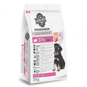 Ultra Dog Premium Small & Medium Puppy Dry Dog Food Chicken Flavour
