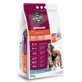 Ultra Dog Superwoof  Large Puppy Dry Dog Food Chicken Flavour