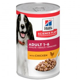 Hill's Science Plan Adult Canned Dog Food Chicken Flavour