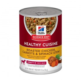 Hill's Science Plan Adult Canned Dog Food Chicken and Carrot Flavour