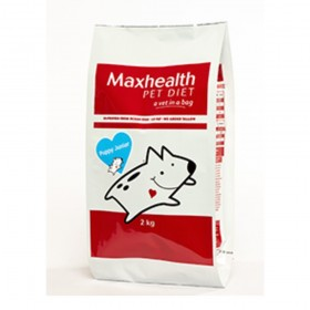 Maxhealth Puppy Junior Dry Dog Food Fish flavour